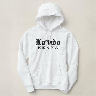 Kajiado, de T-SHIRT van KENIA Geborduurde Sweater Hoodie