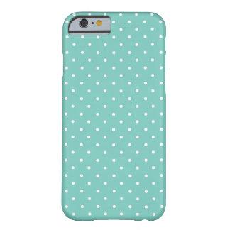 Kaketoe, de Groene en Witte Kleine Stippen van de Barely There iPhone 6 Hoesje