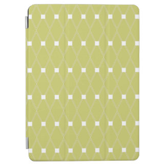 Kaki Rooster Argyle iPad Air Cover