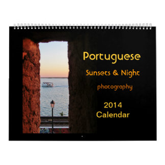 Kalender 2014 van het Zonsondergang van LG de