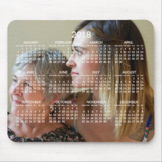 Kalender 2018 van de douane Muismat voegt Foto toe
