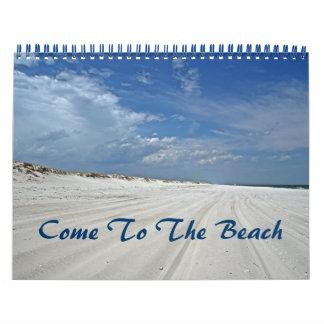 Kalender - aan het Strand is gekomen dat