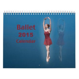 Kalender de van 12 maanden van het ballet 2015