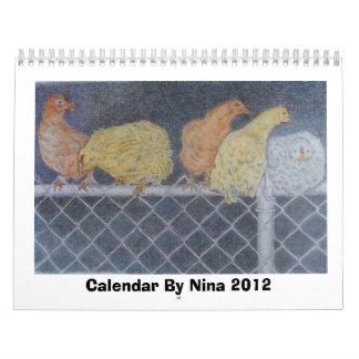 Kalender door Nina 2012