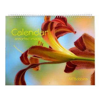 Kalender - Geassorteerde Afbeeldingen - met Grote