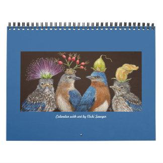 Kalender met de kunst van de Zager Vicki #4