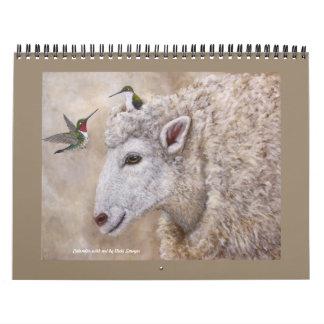 Kalender met het Art. van de Zager Vicki