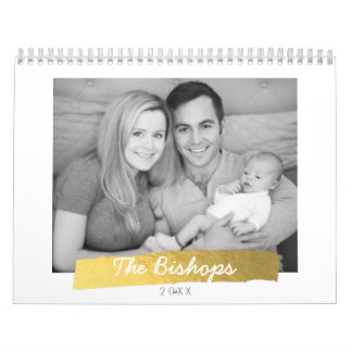 Vind hier de leukste kalenders en personaliseer met kleur en design iedere maand