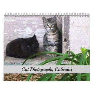 Kalender van de Fotografie van de Kat van Sgolis