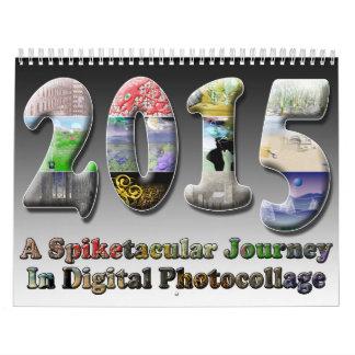 Kalender van de Kunst van Spiketacular Surreal