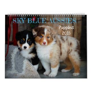 Kalender van het Puppy van Aussies 2018 van de