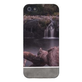 Kalme Lange blootstelling van watervallen en iPhone 5 Covers
