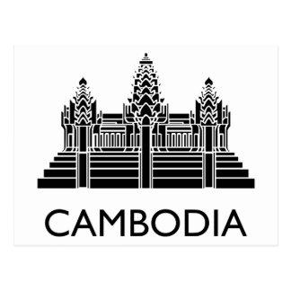 Kambodja Angkor Wat Briefkaart
