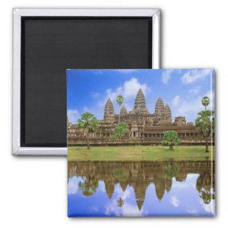Kambodja, Cambodja, de tempel van Angkor Wat Vierkante Magneet