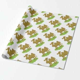 kameel lang lopen inpakpapier