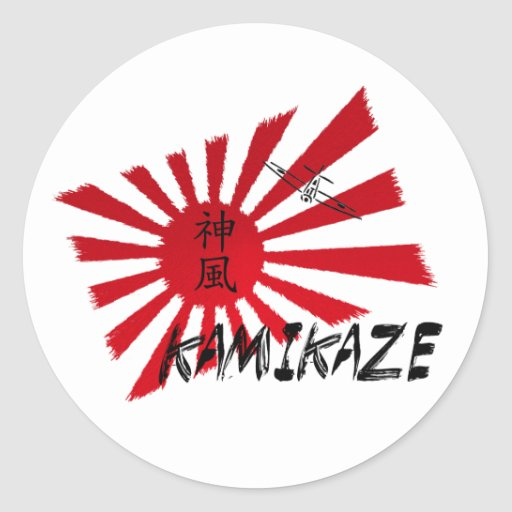 Kamikaze Ronde Sticker