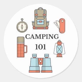 Kamperende 101 - de Grappige Stickers van het