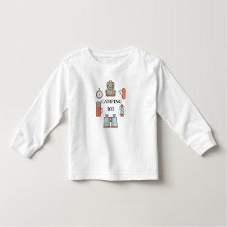 Kamperende 101 - de T-shirt van de Peuter van het
