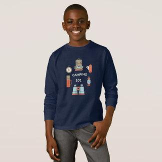 Kamperende 101 - het Grappige Overhemd van de T Shirt