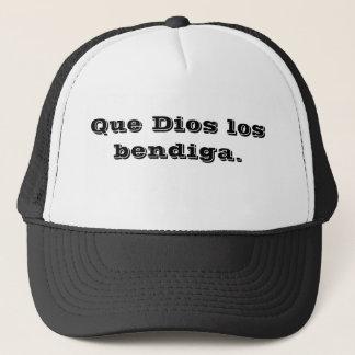 kan GOD u (het Spaans) zegenen. Trucker Pet