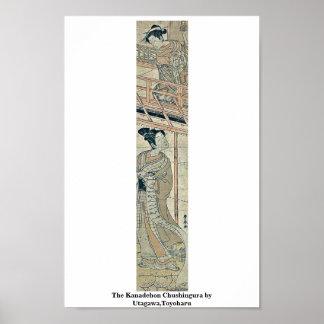 Kanadehon Chushingura door Utagawa, Toyoharu Poster