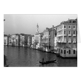 Kanalen van Venetië Italië Wenskaart