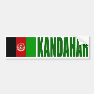 Kandahar, de Vlag van Afghanistan Bumpersticker