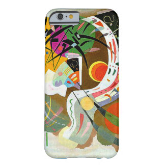 Kandinsky - Dominante Kromme Barely There iPhone 6 Hoesje