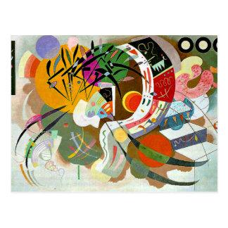 Kandinsky - Dominante Kromme Briefkaart