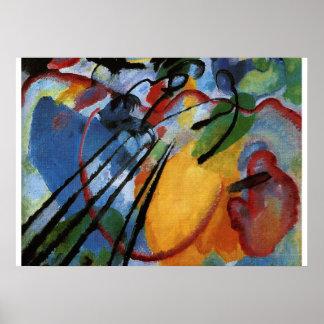 Kandinsky - Improvisatie 26, het Roeien Poster