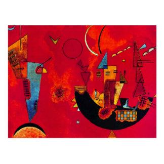 Kandinsky Mit und Gegen Briefkaart