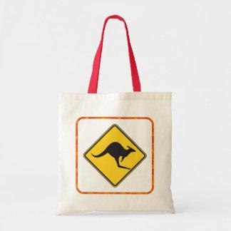 Kangoeroe die Canvas tas kruisen