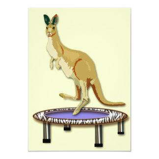 Kangoeroe en Trampoline Kaart
