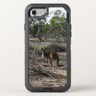 Kangoeroe in Billabong, iPhone Otterbox 7/8 Geval