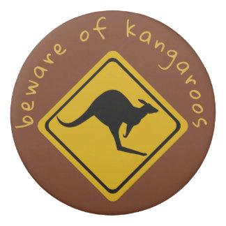 kangoeroe verkeersteken - gom gum