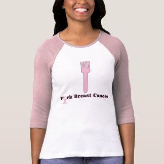 Kanker van de Borst van de vork T Shirt