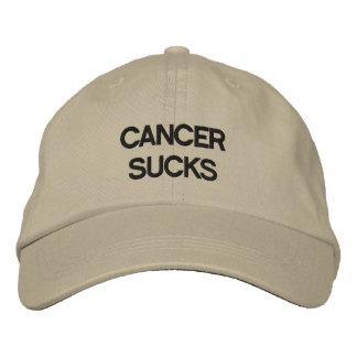 Kanker zuigt! geborduurde pet