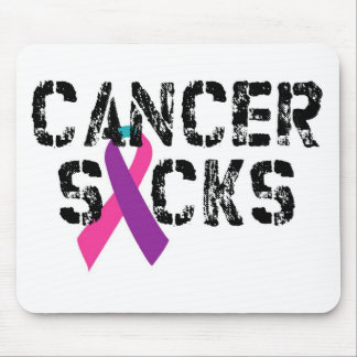 Kanker zuigt - het Lint van Kanker van de Muismat