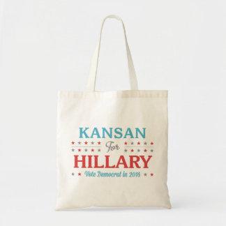 Kansan voor Hillary Draagtas