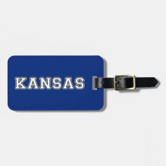Kansas Bagagelabel