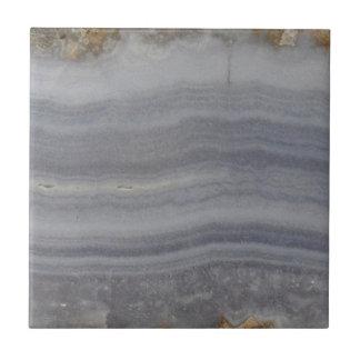 Kanten Blauw Agaat Natuurlijke Cabochon Keramisch Tegeltje