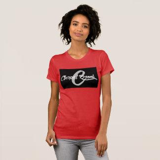 kapel beek rood V - hals T Shirt