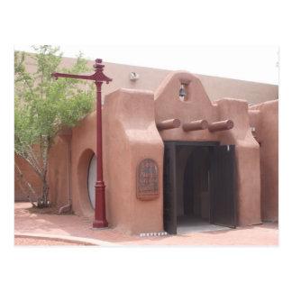 Kapel, Oude Stad, Albuquerque, NM Briefkaart