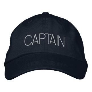 Kapitein Hat - bootkapitein, jachtgift, nieuwe Geborduurde Pet