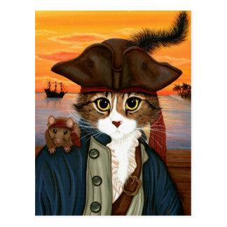 Kapitein Leo, de Kat van de Piraat & het Briefkaart