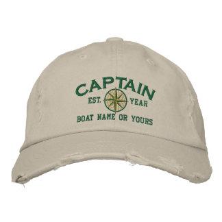Kapitein Nautical STAR personaliseert het! Geborduurde Pet