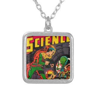 Kapitein Science -- Vampieren: Waarheid of Fictie? Zilver Vergulden Ketting
