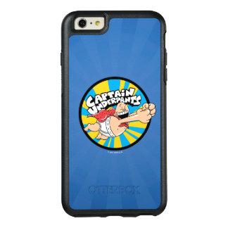Kapitein Underpants   het Vliegende Kenteken van OtterBox iPhone 6/6s Plus Hoesje