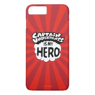 Kapitein Underpants   Mijn Held iPhone 8/7 Plus Hoesje