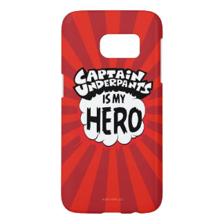Kapitein Underpants   Mijn Held Samsung Galaxy S7 Hoesje